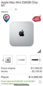 Costco: Mac Mini M1 256GB Paypal + TDC BBVA Digital