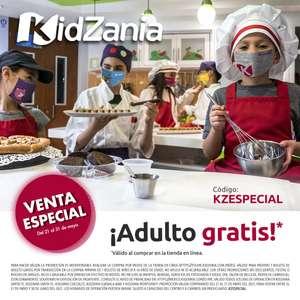 kidzania: Ingreso de adulto GRATIS en la compra de acceso de niño