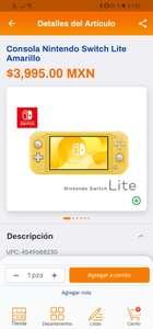 Chedraui: Oferta Nintendo Switch Lite