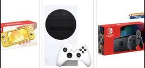 Walmart y Bodega: Recopilación de Consolas Nintendo Switch (Lite y Gris 1.1) y Xbox series S con TDC BANCOMER 20MSI