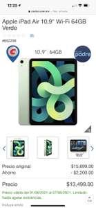 Costco IPad Air 64 gb verde