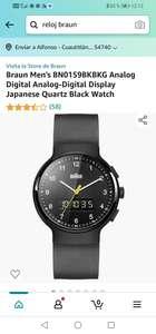 Amazon : Reloj Braun Alemán.