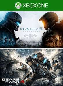 Eneba: Gears of War 4 and Halo 5: Guardians Bundle XBOX LIVE Key ARGENTINA