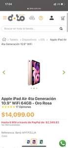 Doto: Apple iPad Air 64gb