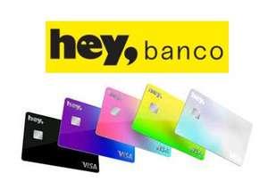 Hey Banco Tarjeta de crédito cashback hasta 2% y hasta 12 MSI siempre, 0 anualidad, e-shop, tarjeta dual (debito y crédito mismo plástico)