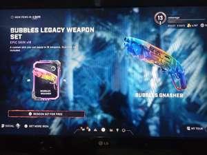 Gears of War 5 - Bubbles Legacy Weapon Skin Set