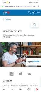 Amazon: Recopilación de promociones bancarias en PRIME DAY