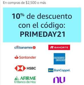 NU BANK: 10% de descuento durante el Prime Day