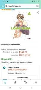 Amazon prime days Descuento en mangas panini