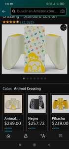 Amazon: Joy-Con Comfort Grip for Nintendo Switch – Animal Crossing - Standard Edition