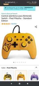 Amazon: Controles alámbricos o para Nintendo Switch - Pikachu Pixeleado, Animal Crossing, Mario White, Control Blanco