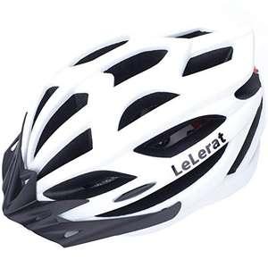 Amazon: Casco de bicicleta para adultos con luces traseras, casco de bicicleta con visera extraíble tamaño ajustable