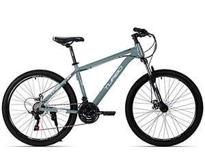 Amazon: Turbo Bicicleta R-26 TX 6.1 Gris, rodada 26 (Con HSBC)
