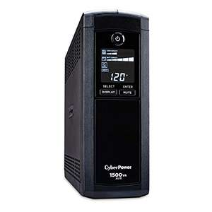 Amazon: UPS cyberpower CP1500AVRLCD - Mini-torre SPI 1500 VA/900W