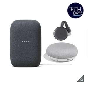 Costco: Bundle de GooglNest Audio, Google Mini, y Google Chromecast