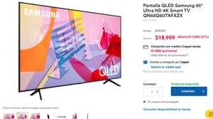 "Coppel: Pantalla QLED Samsung 65"""