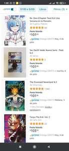 Amazon: Mangas con $39 pesos de descuento (LEER DESCRIPCIÓN)