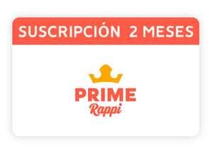 Rappi Prime: 2 meses GRATIS