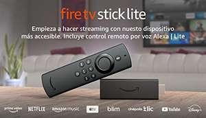 Amazon: Fire TV Stick Lite con control remoto