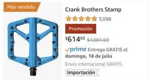 Amazon: Pedales Crank Brothers Grandes