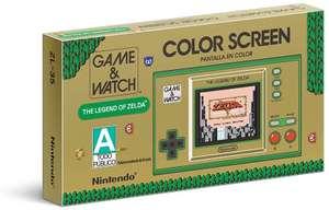 AMAZON: GAME&WATCH ZELDA