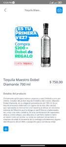 Jokr: Tequila Maestro Dobel Diamante 700ml