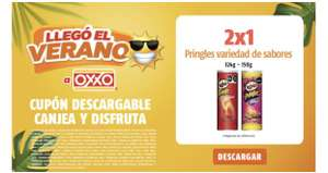 OXXO: 2 x 1 en Pringle's