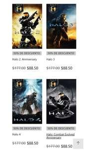 Halo 1, Halo 2, Halo 3, Halo 4 $88.50 c/u