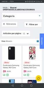 Coppel: Funda Antirayaduras para Samsung A01