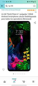 Amazon: LG g8 128gb renewed
