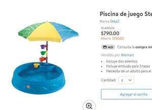 Walmart Piscina de juego Step2 con Sombra
