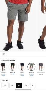 Amazon: Pantalones Cortos para Hombre