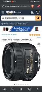 Amazon: AF-S NIKKOR 50MM F/1.8G (Renewed)