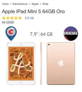 Costco: Apple iPad Mini 5 64GB Oro