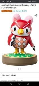 Amazon Amiibo Celeste Animal Crossing