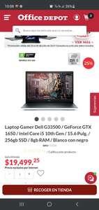 Office Depot: Laptop Gamer Dell G33500