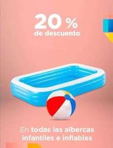 Chedraui: 20% de descuento en albercas infantiles e inflables