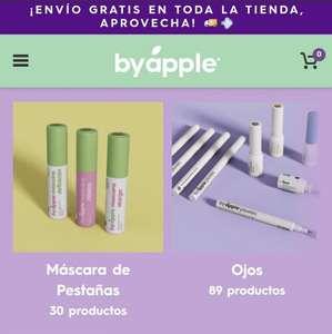 Apple Cosmetics: -40% de descuento y envío gratis en toda la tienda