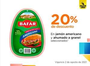 Chedraui: 20% de descuento en Jamón Americano y Ahumado a granel