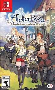 Amazon: Atelier Ryza Ever darkens nintendo switch