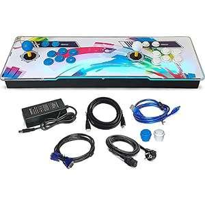 Amazon: Pro System Audiotek Tablero Arcade Videojuegos Consola de Videojuegos 3000+ Juegos Joystick Palanca Pandora 5s TV PC Gamer