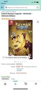 Amazon: Rayman Legends Nintendo Switch