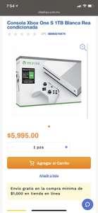 Chedraui Xbox s re acondicionado