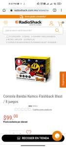 Radio Shack Consola Bandai Namco Flashback Blast / 8 juegos