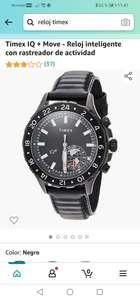 Amazon : Timex IQ + Move - Reloj inteligente con rastreador de actividad