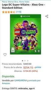Amazon: Lego DC super-villains Xbox One