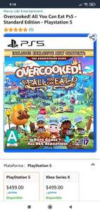 Amazon: Overcooked all You can eat Xbox series x