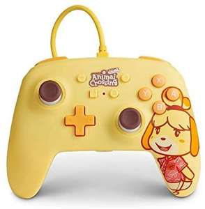 Amazon: Control alambrico Para Nintendo Switch - Animal Crossing canela