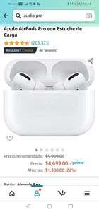 Amazon: Apple AirPods Pro con Estuche de Carga
