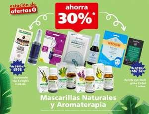 Farmacias San Pablo: 30% de descuento en mascarillas naturales y aromaterapia